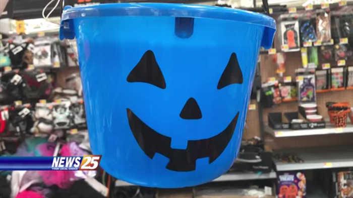 Important reason behind blue Halloween buckets