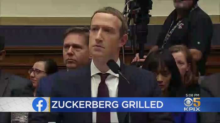 Zuckerberg Grilled By Lawmakers While Defending Libra Cryptocurrency Plan
