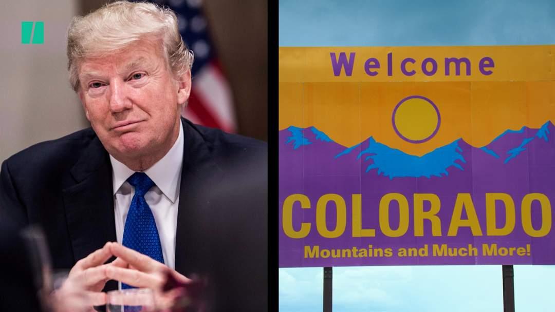 Trump Boasts About A Wall In Colorado