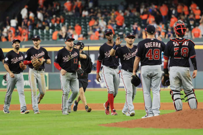 Nationals Take 2-0 World Series Lead Behind Wild 7th Inning