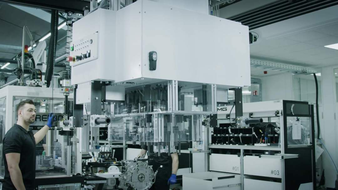 Mercedes-AMG hand-built engine production facility is 2019 'Factory of the year' Trailer