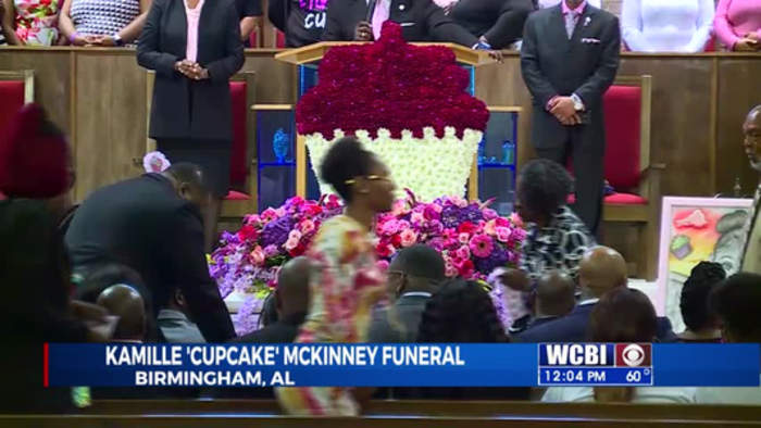Funeral For Kamille 'Cupcake' McKinney-  10/28/19
