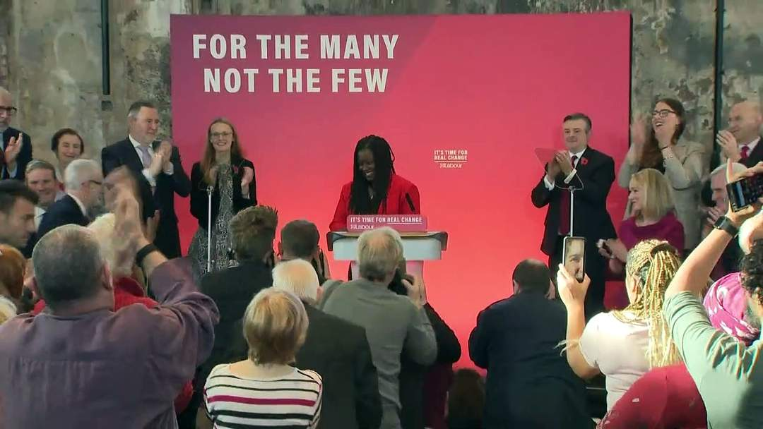 Corbyn launches election campaign for 'real change'