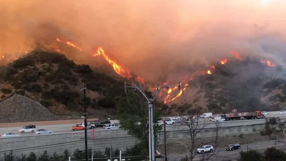 Dangerous Desert Winds Whips Up More LA Area Fires
