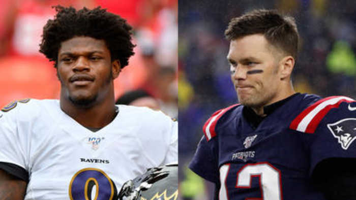 Ravens' Lamar Jackson on facing Patriots' Tom Brady