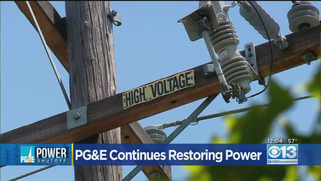 PG&E Says More Than 36K Customers Still In The Dark Following Oct. 29 PSPS