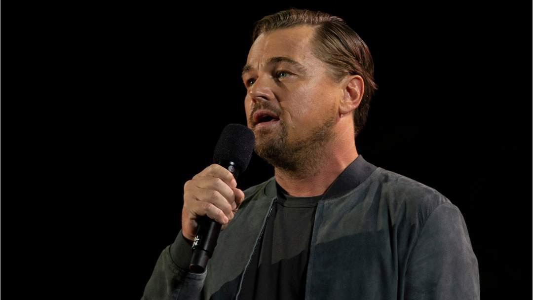 Leonardo DiCaprio And Greta Thunberg Meet