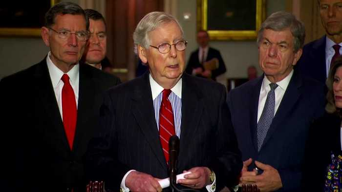 McConnell does not expect possible Senate impeachment trial to lead to Trump's ouster