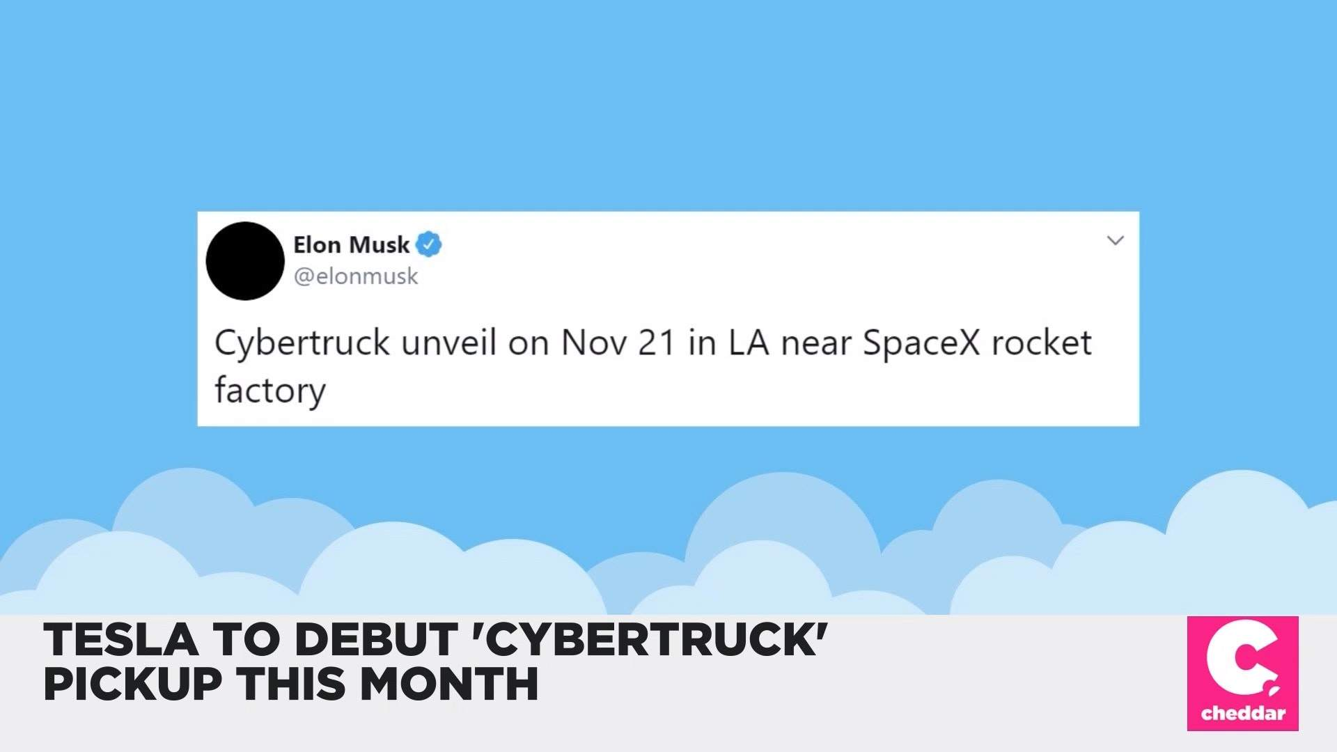 Tesla Will Unveil Its 'Cybertruck' Later This Month