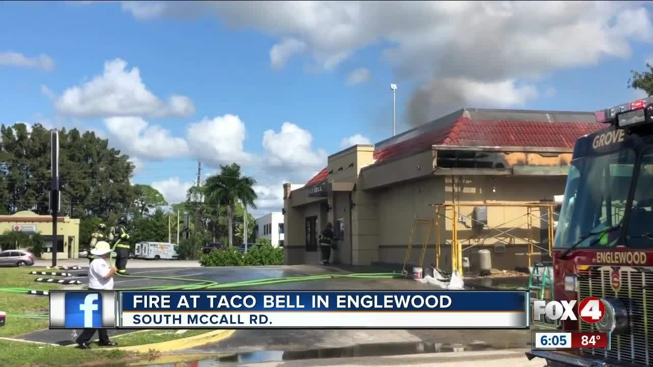 Taco Bell catches fire Englewood - One News Page VIDEO
