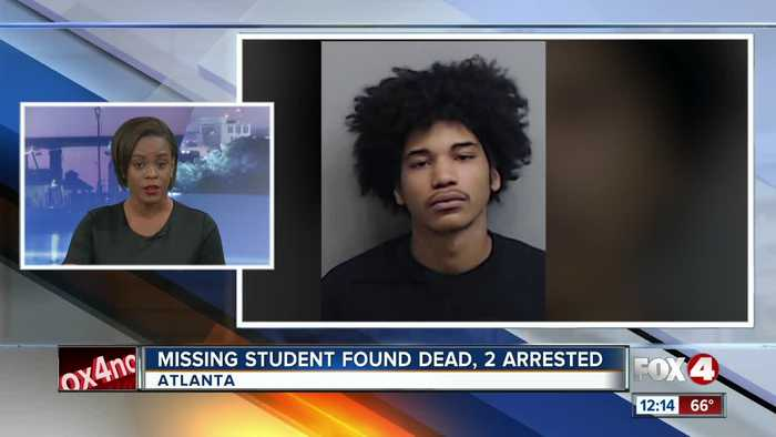 Missing Clark Atlanta University student found dead, 2 arrested