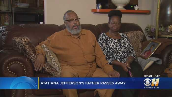 1 Month After Her Death, Atatiana Jefferson's Father Passes Away