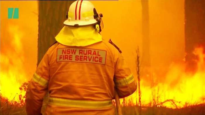 Fires Blaze In Parts Of Australia In Unprecedented Wildfires