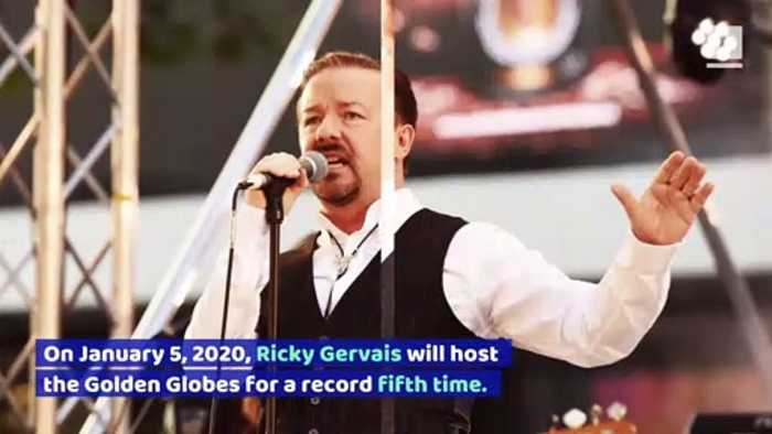 Ricky Gervais Announced as Host for 2020 Golden Globes