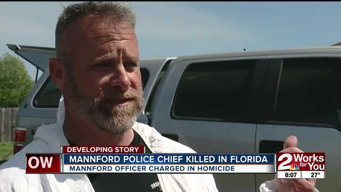 MANNFORD POLICE CHIEF KILLED IN FLORIDA