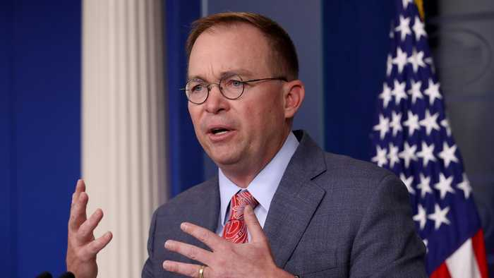 Mulvaney Drops Lawsuit Plans, Won't Testify In Impeachment Inquiry