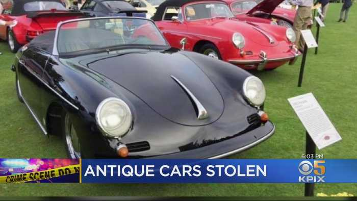 Owner Heartbroken When His 60s Classic Porsche Roadster Was Stolen From Car Show