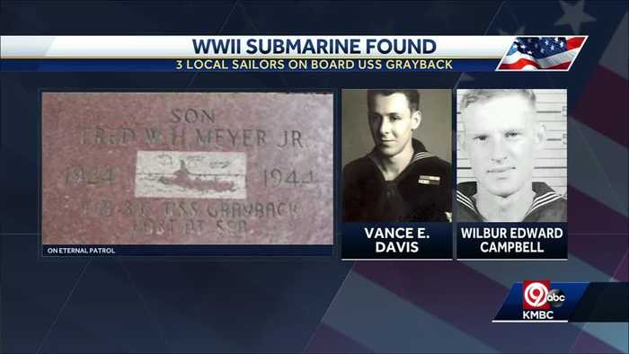 WWII submarine missing for 75 years found near Japan