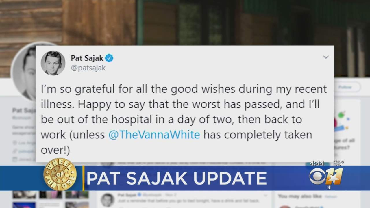 Pat Sajak Says 'Worst Has Passed' After Emergency Surgery Last Week