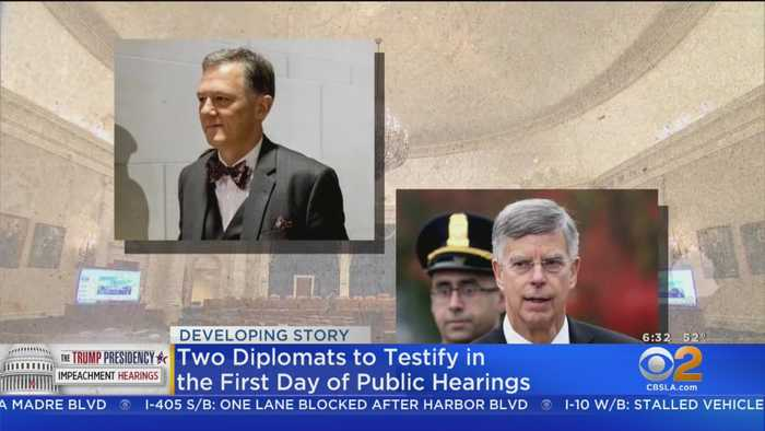 Public Impeachment Hearings Begin Today