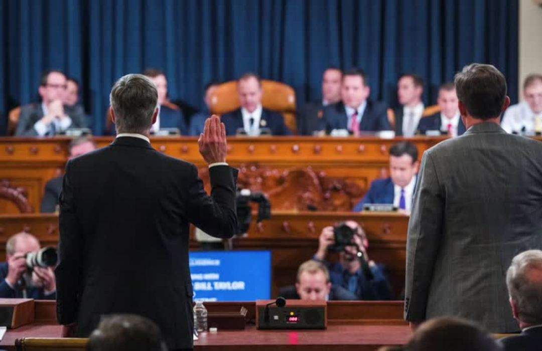 Democrats open impeachment hearings, hoping to sway public