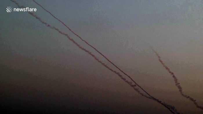 Israeli army intercept rockets sent from Gaza during ceasefire