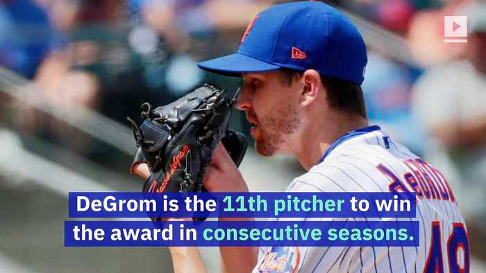 Jacob deGrom and Justin Verlander Win Their Second Cy Young Awards