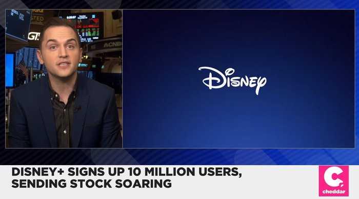 Disney Stocks Soar After Disney+ Launch