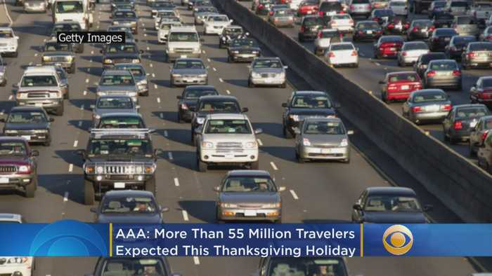 AAA: More Than 55 Million Travelers Will Hit The Road And Skies This Thanksgiving