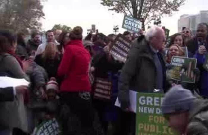 AOC, Sanders unveil Green New Deal for public housing
