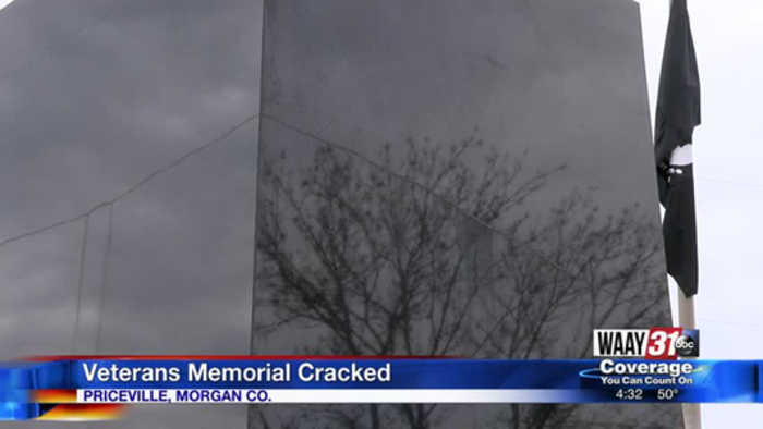 Veterans memorial needs repairs in Priceville