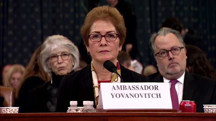 Yovanovitch was 'appalled' by Trump's 'bad news' comment