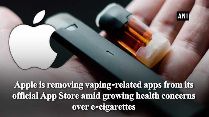 Apple pulls doown Vaping related Apps from App Store Report