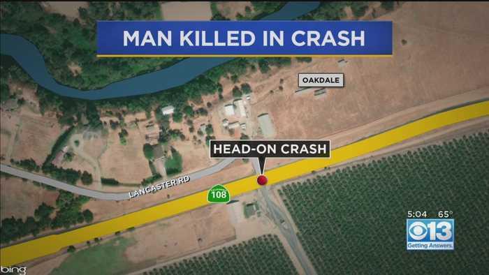 1 Dead In Head-On Crash On Hwy. 108 Near Knights Ferry