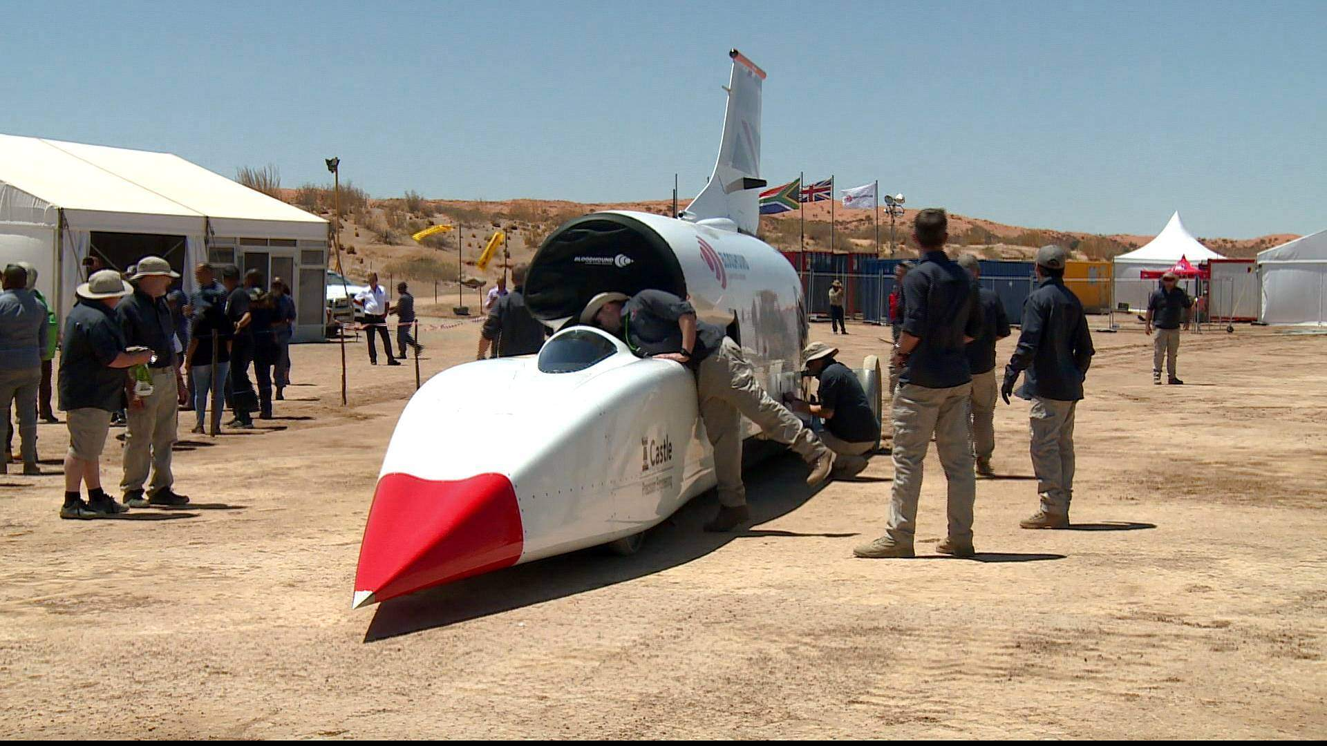 World's fastest car: Vehicle aims to break record by 2020
