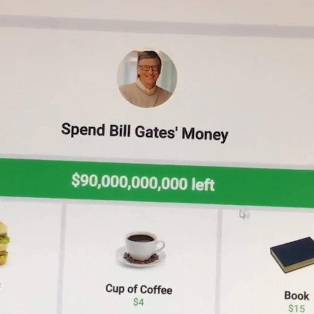 TikTok star goes viral trying to spend Bill Gates' fortune