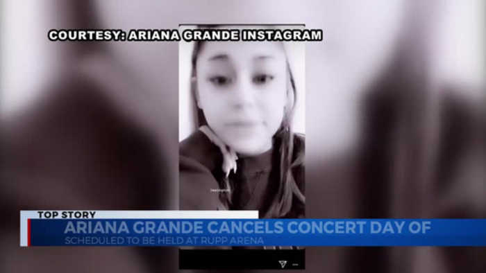 Fans react to cancelled Ariana Grande concert