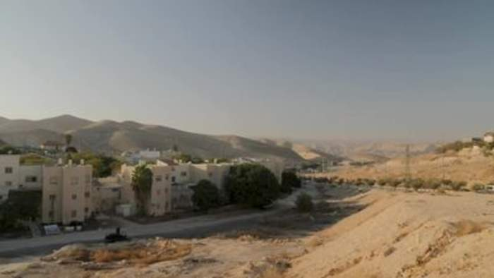U.S. softens its stance on Israeli settlements in the West Bank