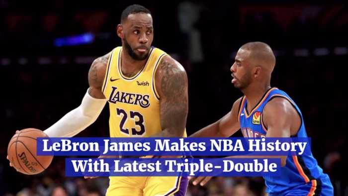 LeBron James Is A Triple-Double King