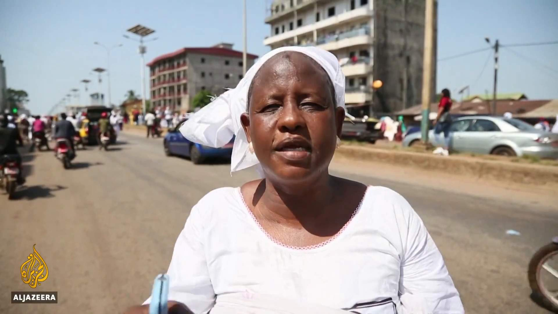 Mothers in Guinea rally against police violence