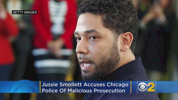 Jussie Smollett Accuses Chicago Police Of Malicious Prosecution