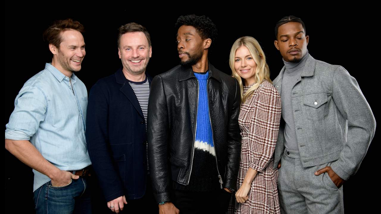 Chadwick Boseman, The Cast & Director Of '21 Bridges' Talk About The Action Movie