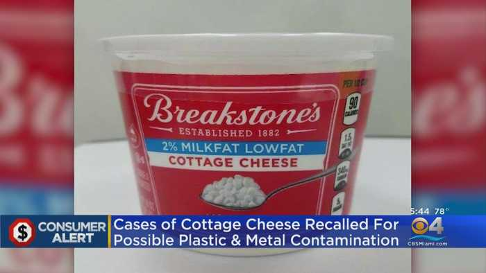 Consumer Alert: Breakstone's Cottage Cheese Being Recalled