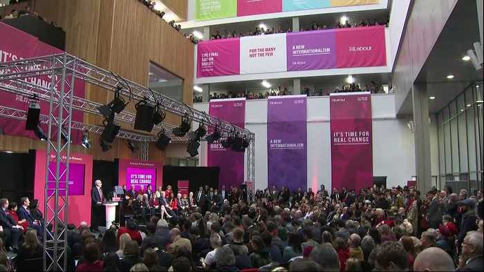 Jeremy Corbyn promises to scrap university tuition fees