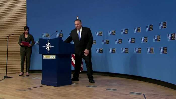 Pompeo says 'proud' of U.S. policy in Ukraine