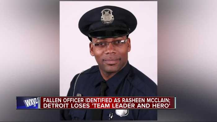 'A hero and a leader.' Slain Detroit police officer's courage 'resulted in tragedy,' chief says