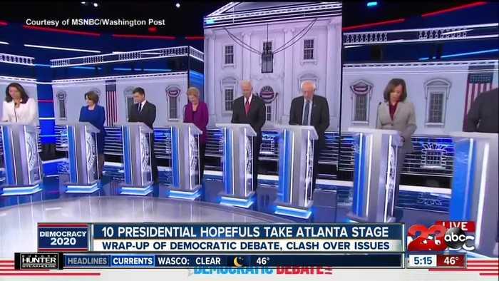 10 Presidential Hopefuls Take Atlanta Stage