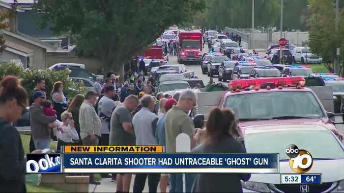 Santa Clarita High School shooter had untraceable 'ghost' gun