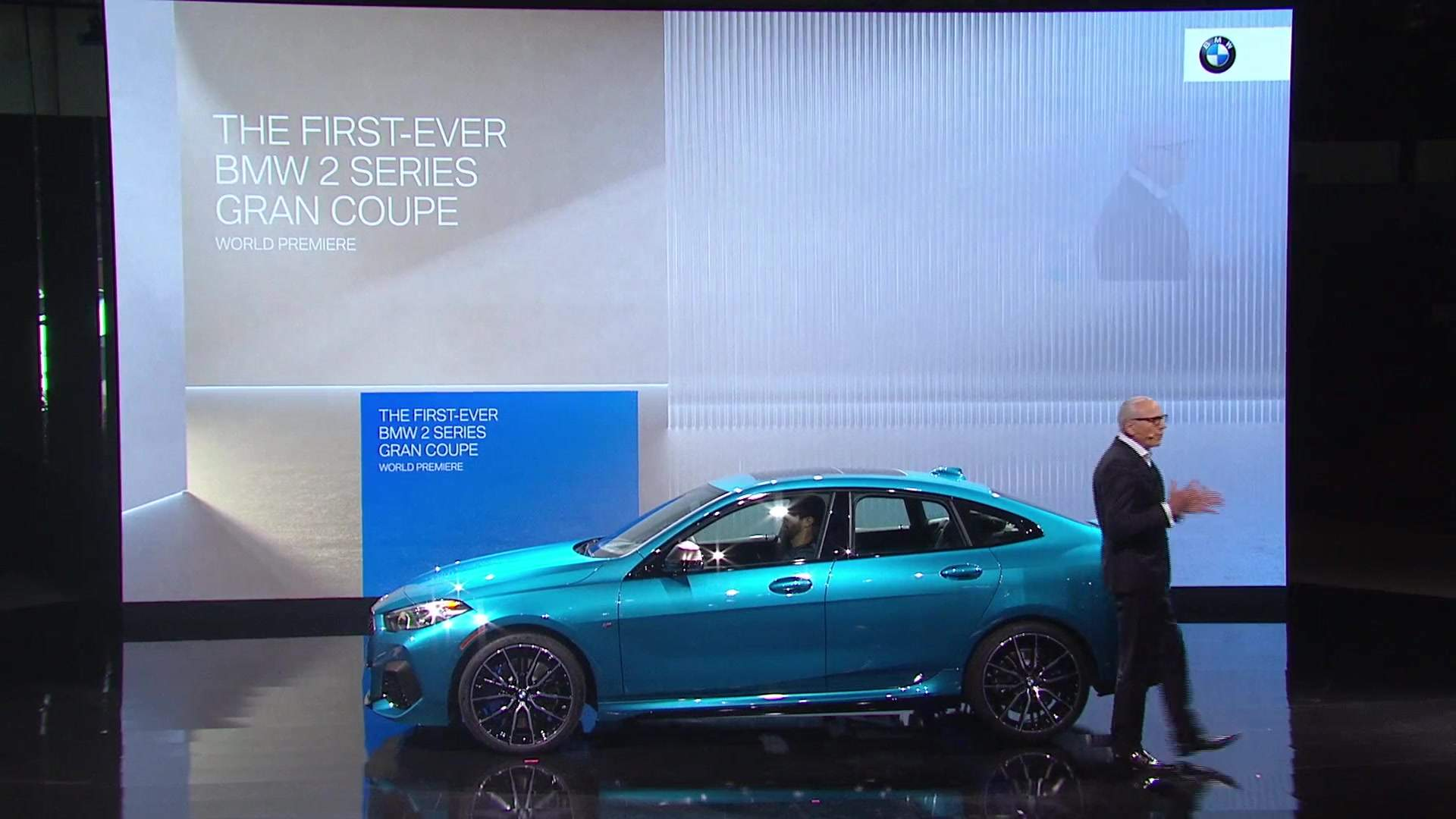 World Premiere of the first-ever BMW 2 Series Coupe at LA Auto Show 2019