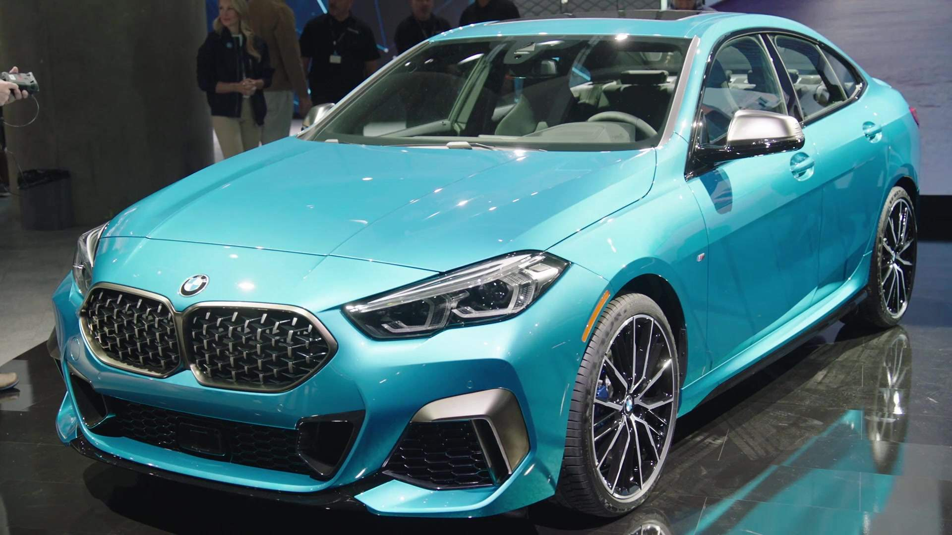 The new BMW 2 Series Coupe at LA Auto Show 2019